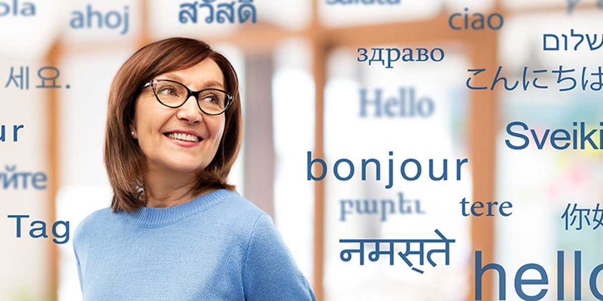 vision and old people concept - smiling senior woman in glasses over greeting words in different foreign languages Schlagwort(e): woman, old, senior, translator, language, foreign, business, businesswoman, translation, speech, translate, multilingual, dictionary, international, office, hello, hi, world, many, education, talk, speak, various, entrepreneur, professional, occupation, communication, specialist, polyglot, knowledge, learning, vocabulary, word, glasses, mature, adult, beautiful, female, elderly, aged, retired, 60s, person, people, concept, background, smiling, happy, copyspace, copy space